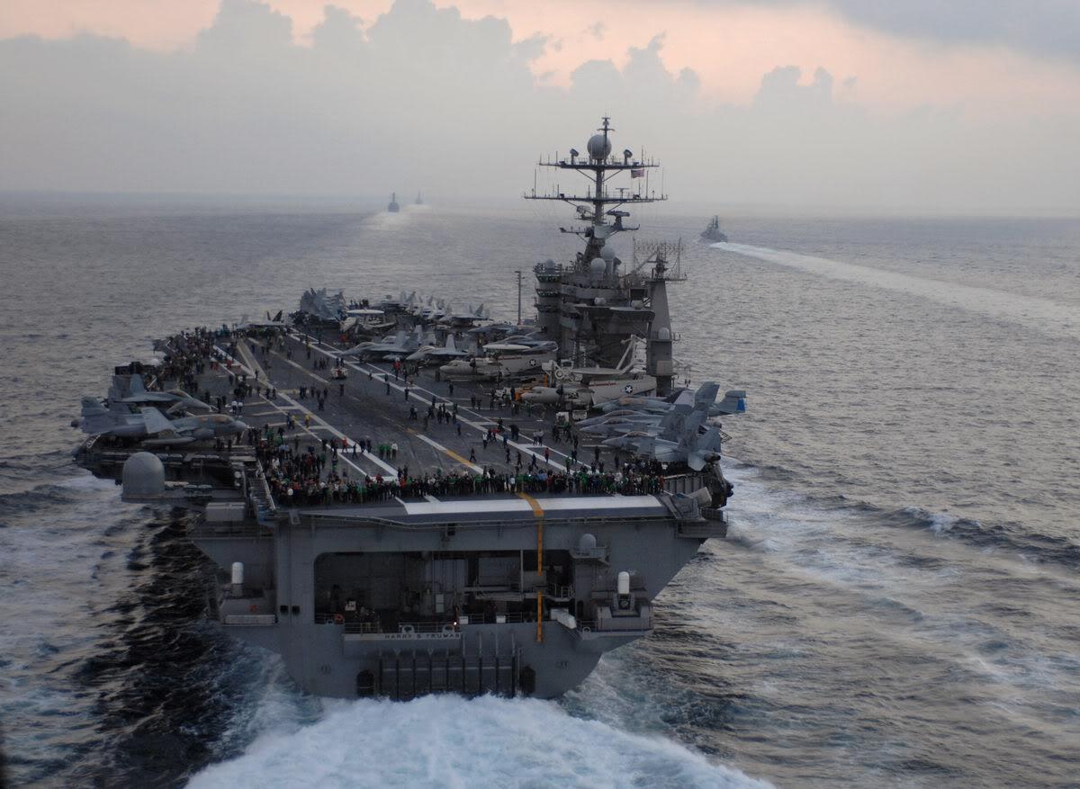Obama risponde all'attacco Nord Coreano con una portaerei nucleare