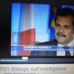 Intervista a TG1 a Giampiero Massolo, direttore del DIS