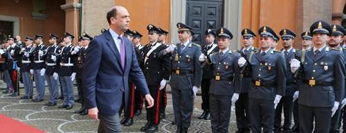 Il Ministro dell'Interno: On. A. Alfano