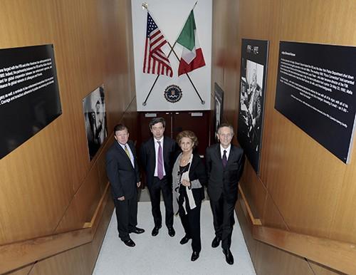 Fondazione Falcone in visita al quartier generale dell'FBI