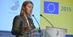 Federica Mogherini a Riga © European Commission, 2015