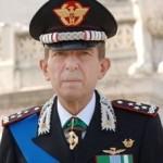 Il Comandante Generale dell'Arma dei Carabinieri, Leonardo Gallitelli (uscente)