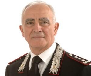 Comandante Generale dell'Arma dei Carabinieri, Tullio Del Sette (subentrante).