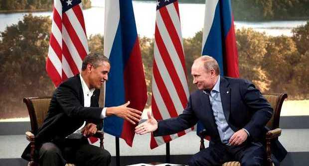 Obama e Putin in un incontro...