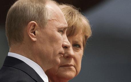Putin & Merkel...