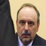 Goran Hadzic in court.