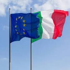 Bandiere ITA & EU