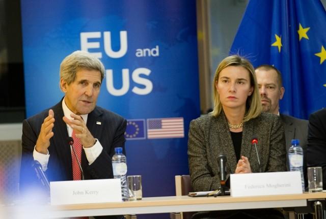 John Kerry & Federica Mogherini