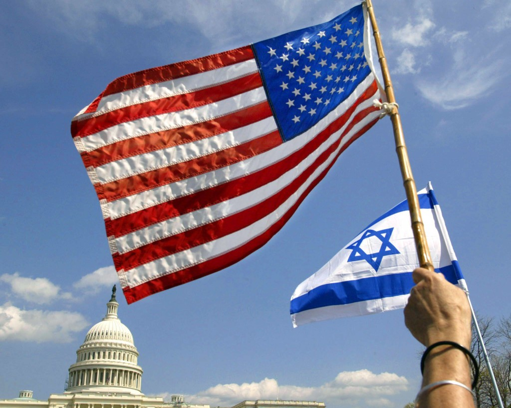 American and Israeli Flags over the U.S. Capitol - RTXL7AW.jpg