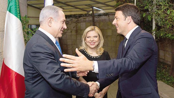 Gerusalemme, Renzi interviene alla Knesset…