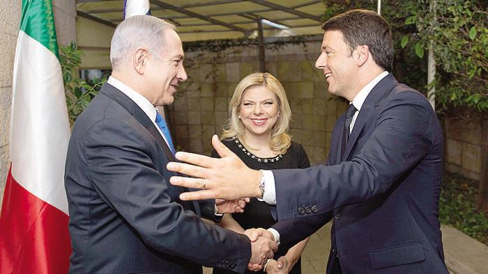 Netanyahu e Renzi