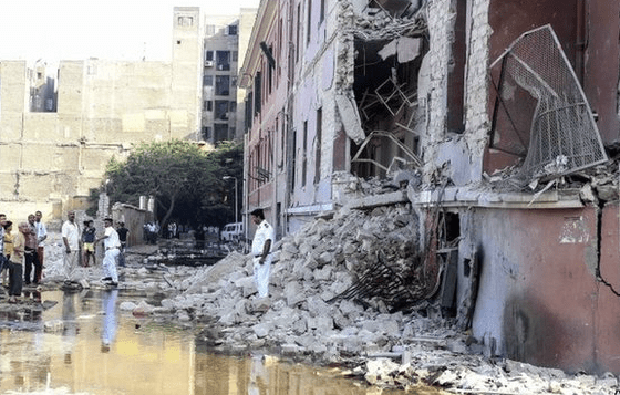 SDR: Daesh (IS) 'behind bomb blast' at Italian consulate in Cairo