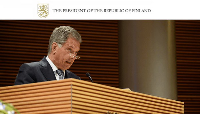 the president of republic of finland