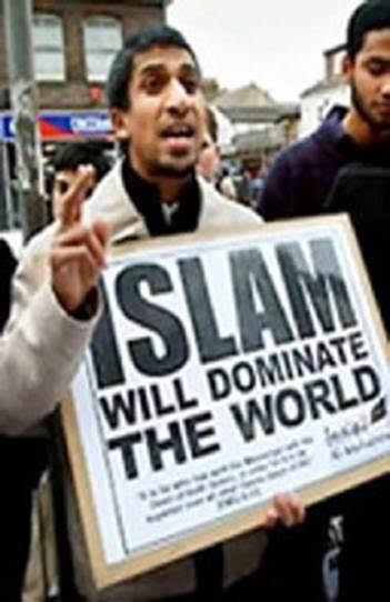 Islam will dominate...