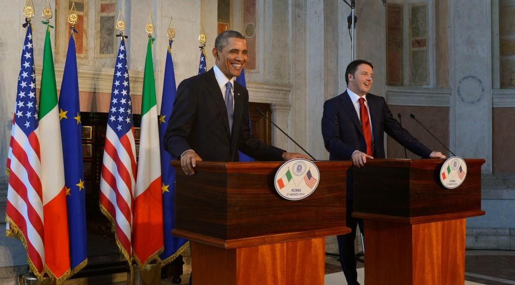 Renzi & Obama