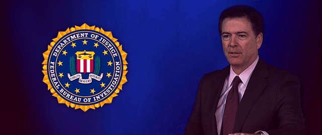 L'attuale direttore dell'FBI. James Comey