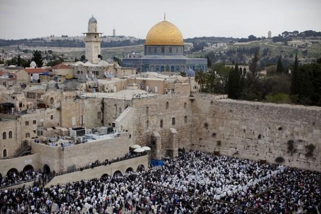 Il Muro del Pianto del Tempio di Gerusalemme
