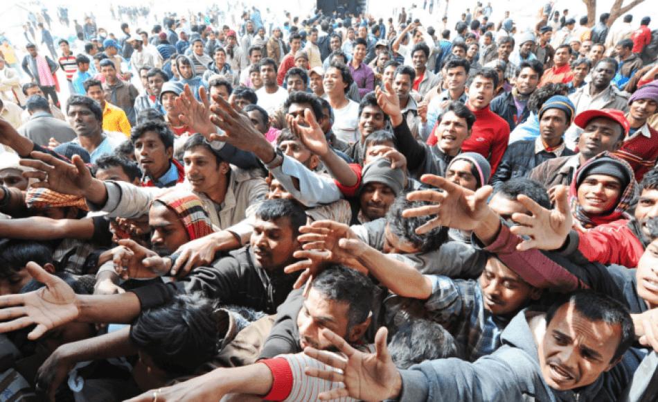 Migranti in Europa...