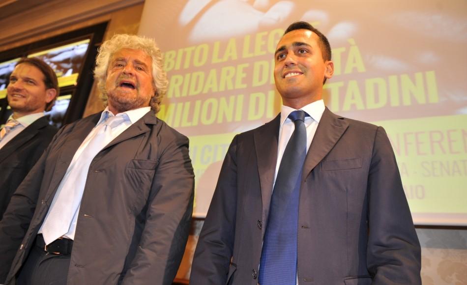 Beppe Grillo psrala dei Servizi