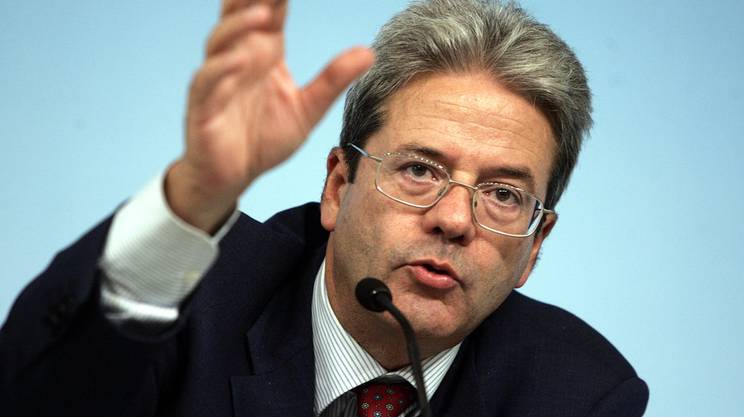 Il Ministro degli Esteri italiano, Paolo Gentiloni.