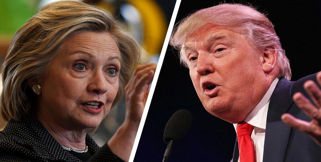 Hilary e Trump