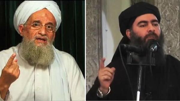 Ayman al-Zawahiri e  Abū Bakr al-Baghdādī,