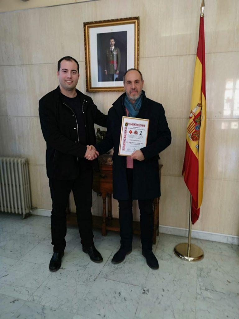 Al professor David de Caixal, direttore generale di SECINDEF e direttore del  Dipartimento-sezione-Terrorism e Difesa di INISEG, è stato conferito il  Diploma ...